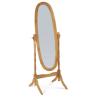 Zrkadlo v drevenom ráme - oak