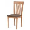 Jedálenská stolička BC-3940 - buk/poťah hnedý