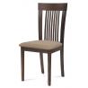 Jedálenská stolička BC-3940 - orech/poťah béžový