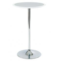 Barový stôl AUB-6050 - biela WT