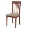 Drevená stolička v troch prevedeniach BC-3950 - čerešňa/béžový poťah