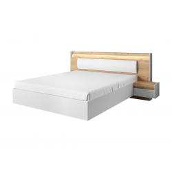 Manželská posteľ s nočnými stolíkmi LAVA