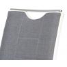Jedálenská stolička v sivom prevedení DCL-410 sivá