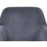 Jedálenská a konferenčná stolička AC-9980 - sivá