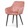 Jedálenská a konferenčná stolička AC-9980 - ružová
