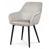 Jedálenská a konferenčná stolička AC-9980 - sivobiela