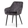 Jedálenská a konferenčná stolička AC-9980 - čierna