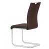 Jedálenská stolička v sivom prevedení DCL-410 hnedá