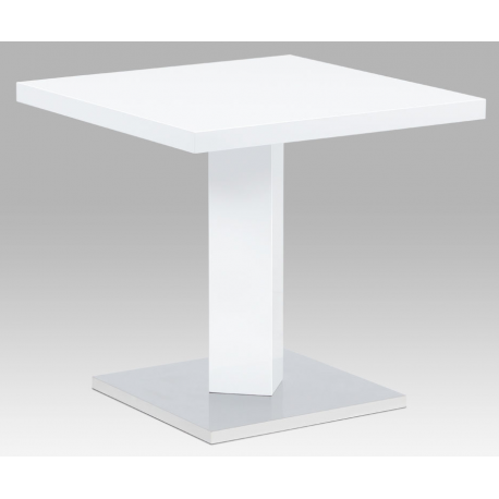 Kovový štvorcový stôl do jedálne