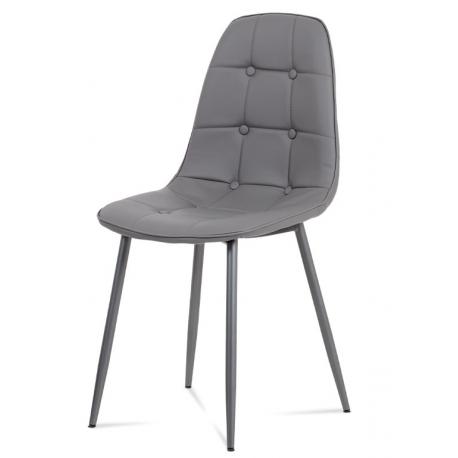 Jedálenská stolička CT-393 - sivá