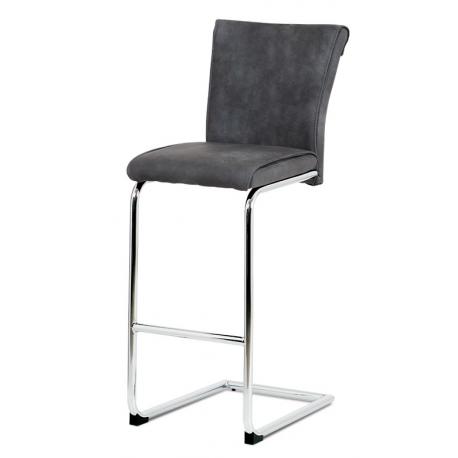 Vysoká barová stolička BAC-192 - sivá