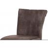 Vysoká barová stolička BAC-192 - hnedá