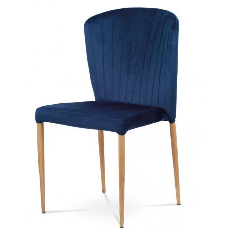 Jedálenská stolička CT-614 - modrá