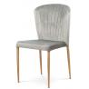 Jedálenská stolička CT-614 - strieborná