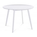Jedálenský stôl v bielej matnej farbe  AUT-007
