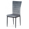 Jedálenská stolička AC-9910 -sivý zamat