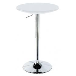 Barový stôl AUB-4010 - biela