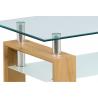 Konferenčný stolík AF-1024-hnedá