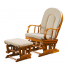 Pohodlné relaxačné kreslo 20447 - dub