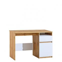 Písací stolík ARCA AR7 - dub wotan/biela