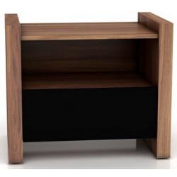 Nočný stolík s úložným priestorom
