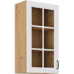Horná 1-dverová presklená skrinka STILO
