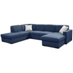 Moderná sedačka v tvare U
