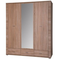 Vešiaková skriňa so zrkadlom