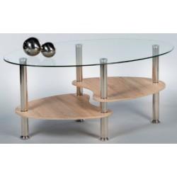 Sklenený konferenčný stolík Panty