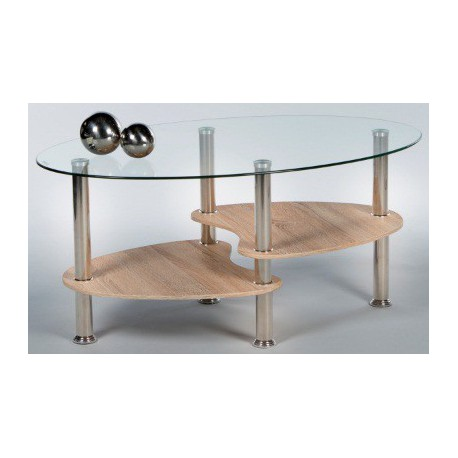 Sklenený konferenčný stolík Panty New