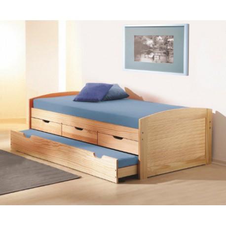 Jednolôžková posteľ s prístelkou