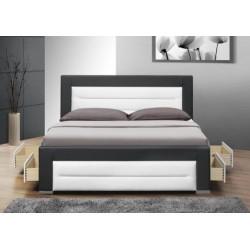 Čalúnená manželská posteľ Nazuka