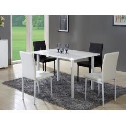 Biely jedálenský stôl Unita