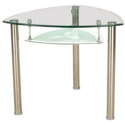 Jedálenský stôl s úložným priestorom v trojuholníkovom dizajne
