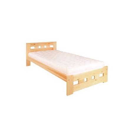 Masívna jednolôžková posteľ LK145