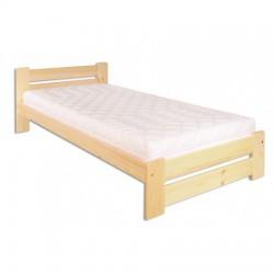 Jednolôžková posteľ z borovice LK146