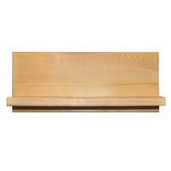 Kratšia polica z dreva