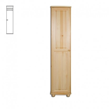 Úzka drevená skriňa SF112