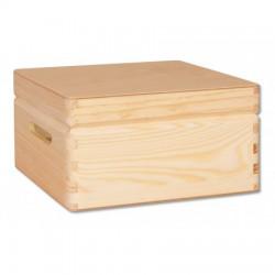 Širšia drevená krabica na drobnosti GD265