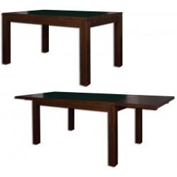 Rozkladací stôl z dubového dreva ST302 s hrúbkou platne 2,5 cm