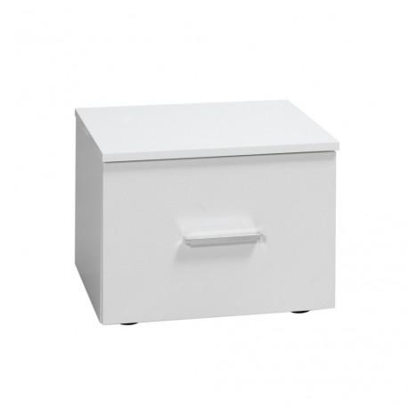 Nočné stolíky bielej farby Panarea