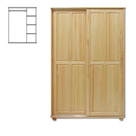 Drevená skriňa s posuvnými dverami SF117