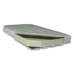 Latexový matrac s kokosovu doskou 200 cm