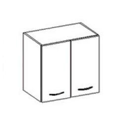 Dvojdverová skrinka Chamonix - 60 cm