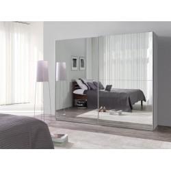 Šatníková skriňa LUX so zrkadlom