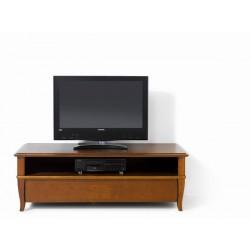 Televízna skrinka s poličkou