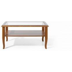 Presklený luxusný  konferenčný stolík