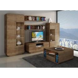 Obývačka vo farbe dub lefkas