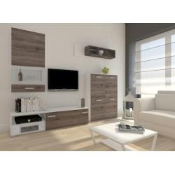 Jednoduchá moderná obývačka