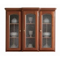 3-dielna vitrína